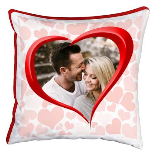 cuscino personalizzato cuore