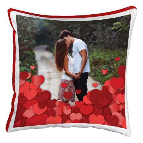 cuscino personalizzato cuoricini
