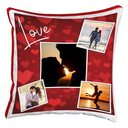 cuscino personalizzato love