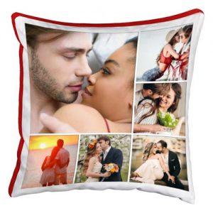 cuscino personalizzato multifoto