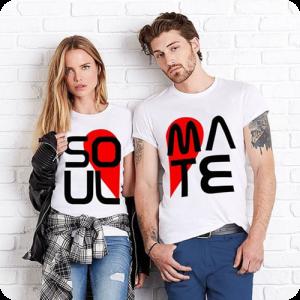 t-shirt personalizzata bianca